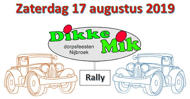 DM Rally logo met datum 2019